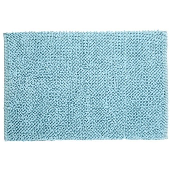 Tapis De Bain 80x50 Acier Kate Bleu Garantie 1 An
