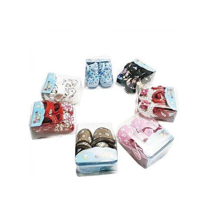 product_image_name-Generic-Lot De 7 Paires De Chaussure Pour Bébé (1 à 8 Mois) - Multicolore-1