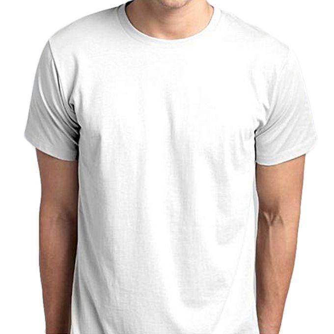 Fashion Tee-shirt Vierge - Homme - Blanc