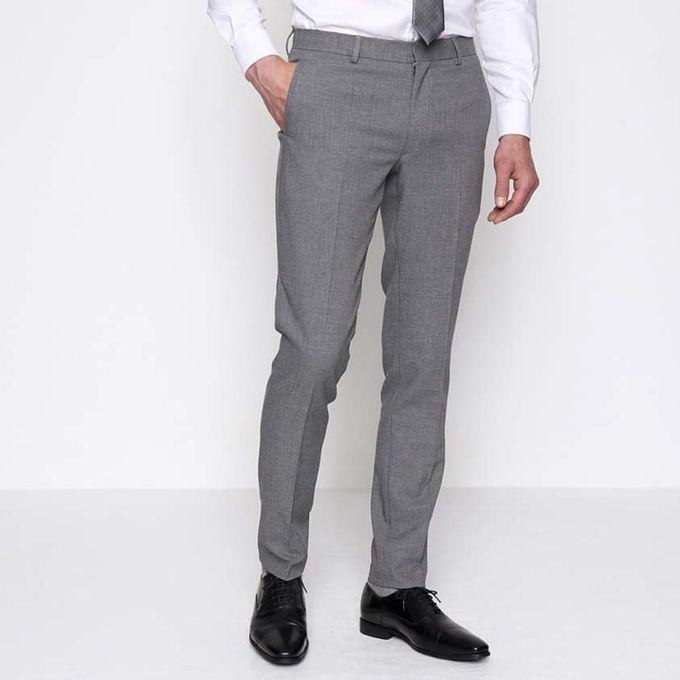 Fashion Pantalon Tissu /Gris - Prix pas cher