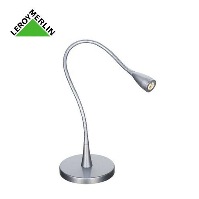 Lampe De Bureau Gao Articulée Haut 51cm Ampoule Led 3w Incluse Garantie 2 Ans Chevet Led