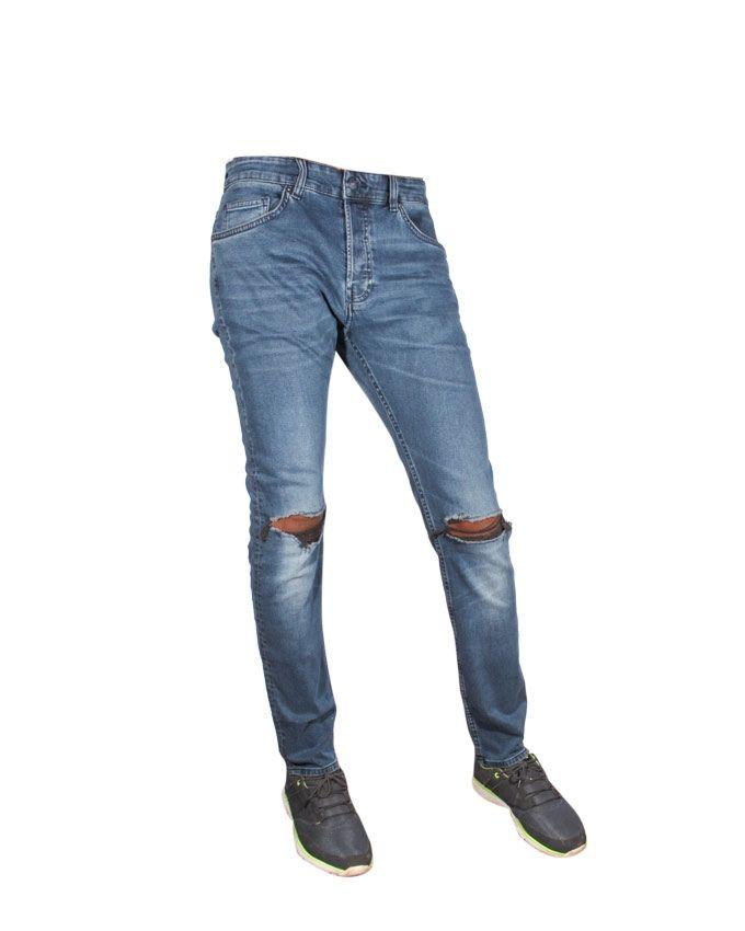 style populaire sortie en vente vente discount Côte d'Ivoire: H&M Pantalon Jeans Homme Slim Effet Delavé ...