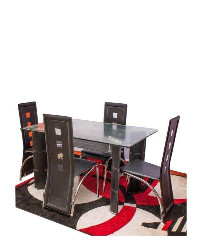 ENJOY LIFE Table à Manger + 4 Chaises