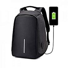 208a67968df9 Sac à Dos Intelligent Avec USB Port - Antivol - Résistant à L  039