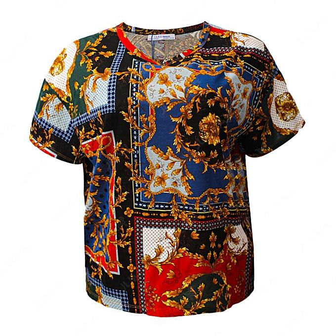 Zara Rougenoir Vintage T Fleur Kuzotpix Cher Shirt Pas Imprimé Prix sQrotChdxB