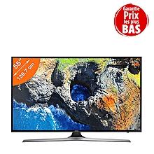 smart tv - 55 pouces - ultra-hd 4k - premium- noir