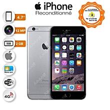 iphone 6s - 4.7 pouces - 4g lte - 12 mégapixels - ios - 16 go - ram 2 go - space-gray - garantie 3 mois - reconditionné