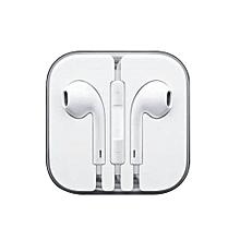 écouteurs iphone - filaire - blanc