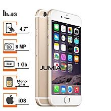 "iphone 6-4g -4.7"" -1/16go - 8mpx - or / reconditionné - garantie 12 mois"