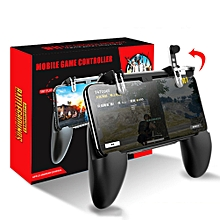 all-in-one mobile game controller fortnited free fire pugb pubg mobile joystick gamepad metal l1 r1 button for iphone gaming pad fcshop
