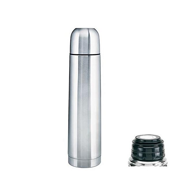 Accessoire Utile Thermos Isotherme X 2 – Inox – 1 Litres – Gris au Côte d'Ivoire à prix pas cher  | Promotion  Anniversaire