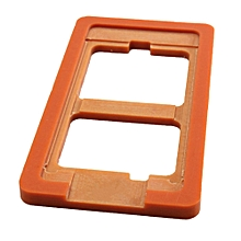 """lcd outer glass lens repair mould mold alignment loca uv glue for iphone 6 4.7"""" (brown)"""