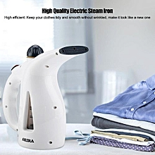 eu plug 220v 200w portable electric steam iron clothes ironing high quality wire for home (white)