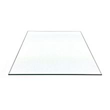 210x250x3mm borosilicate glass build plate for 3d printer heated bed reprap / prusa / mendel