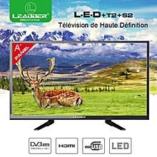"""tv led """"24 pouces- ultra slim avec décodeur intégré- ecran a+ - hdmi - usb + 15 mois de garantie"""