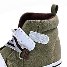 paire de baskets pour bébé - kaki