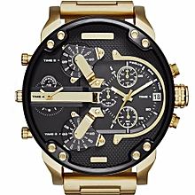 men's fashion luxury watch stainless steel sport analog quartz mens wristwatches