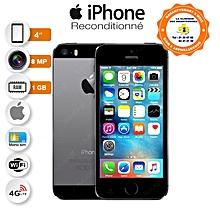 "iphone 5s - 4"" - 32 go - ios 7 - isight 8 mpx flash true tone - space gray- garantie 3 mois - reconditionné"