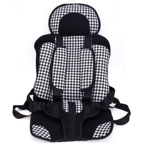 Siège De Sécurité Pour Bébé Voiture Siège De Sécurité Pour Bébé Portable Réglable SMALL SIZE - Blanc + Noir
