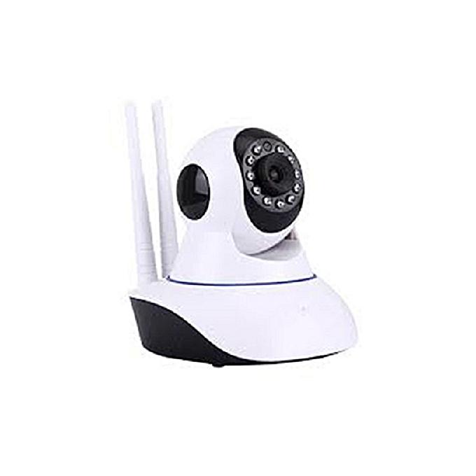 59838d2cdf01c6 Sans marque V380 WiFi Smart Net Camera - Blanc Noir - Prix pas cher ...