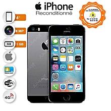 iphone 5s - 4.0 pouces - 4g lte - 16 go - 1go ram- 8mpx - gris - reconditionné - garantie 12 mois