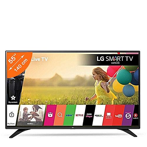 lg smart tv 55lh604v 55 pouces usb hdmi webos 3 wifi noir prix pas cher jumia ci. Black Bedroom Furniture Sets. Home Design Ideas